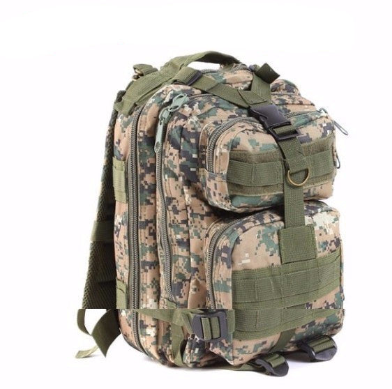 Outdoor Tactical Molle Camping Hiking Trekking Day Backpack 30L