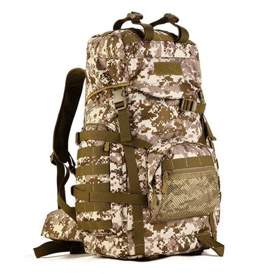 Large Capacity Hiking and Travel Backpack 60L