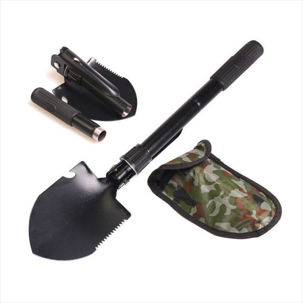 Multifunctional Mini Folding Shovel Outdoor Camping Survival Trowel Tool