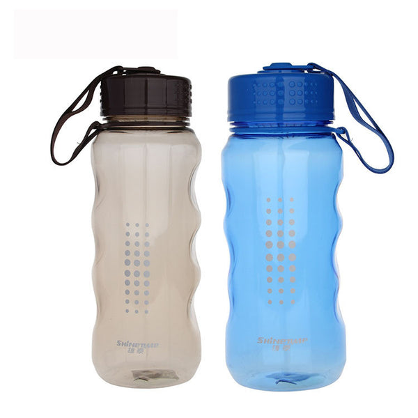 Large 800ml and 1000ml Capacity Sports Drinking Bottles Transparent Colors