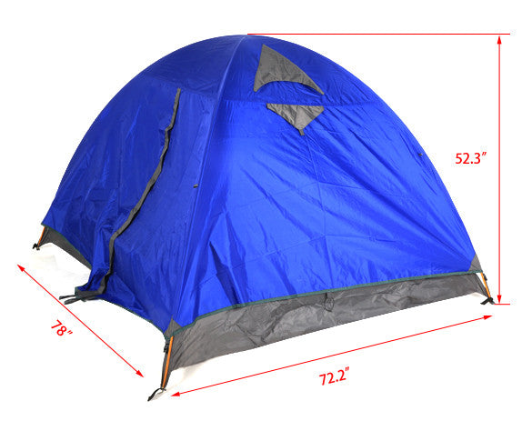 3-4 person Waterproof Outdoor Camping Hiking Family Tent
