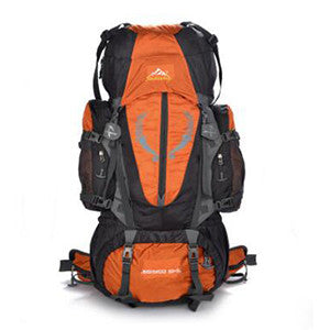 80L Oxford Sports Waterproof Hiking Travel Camping Mountaineering Climbing Backpack