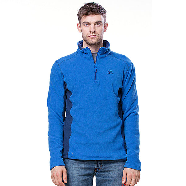 Mens Sportwear Breathable Anti-Sweat Fleece Jacket