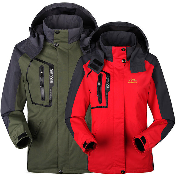 Outdoor Hiking Jackets Waterproof and Windproof