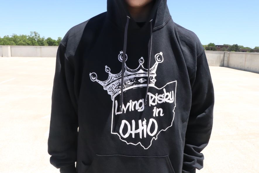 Living Risky Company - Living Risky in Ohio Hoodie