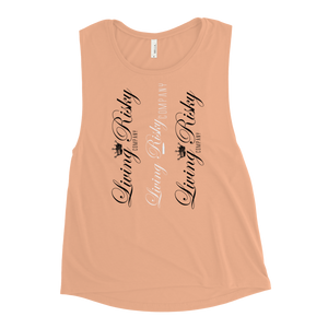"Ladies' Muscle Tank ""3 Times"""