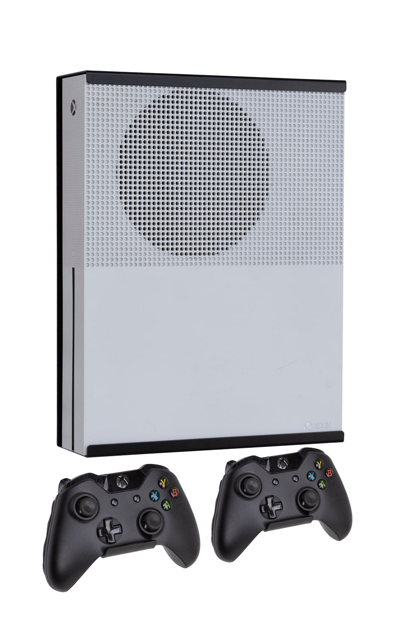 Xbox One S & Digital Wall Mount Kit (Black)- Dynas