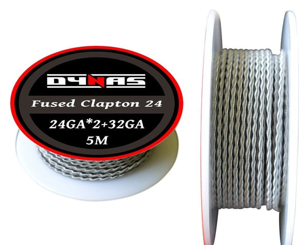 Fused Clapton Wire Spool 5m (24,26,28AWG)