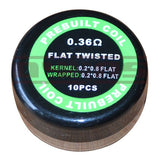 Flat Twisted Coils