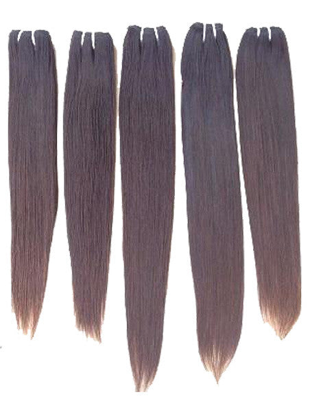 SAMPLE THIS HAIR: SOUTH INDIAN RAW HAIR (50 grams bundles) - Chandra Hair