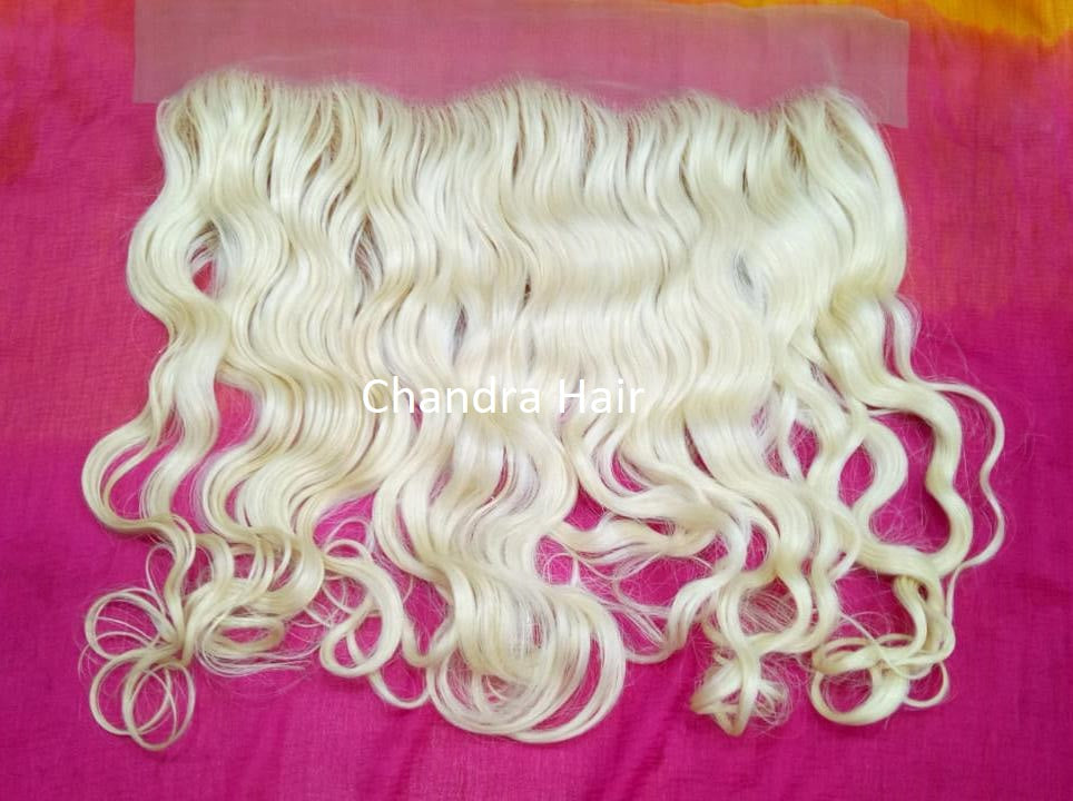 South Indian Lace Frontals - Blond 613 - Chandra Hair