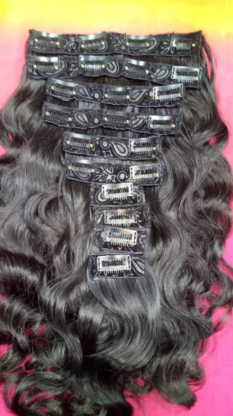 *NEW Clip-ins Hair Extensions South Indian *NEW