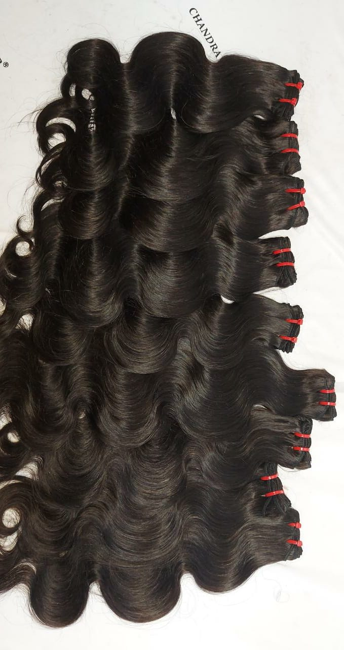 South Indian Remy Hair Bodywave (S shape)