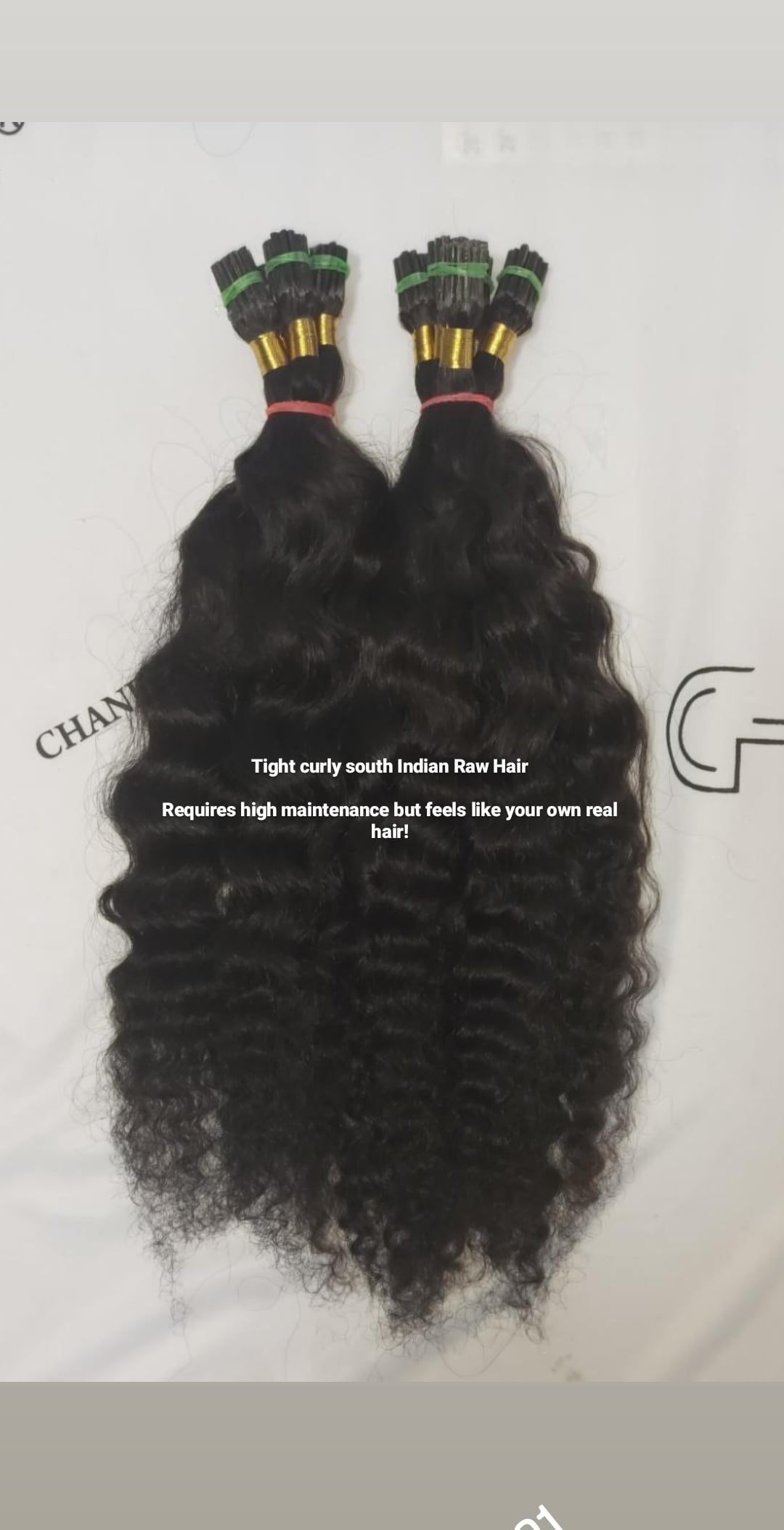 Tight Curly ITIPS - South Indian Raw Hair