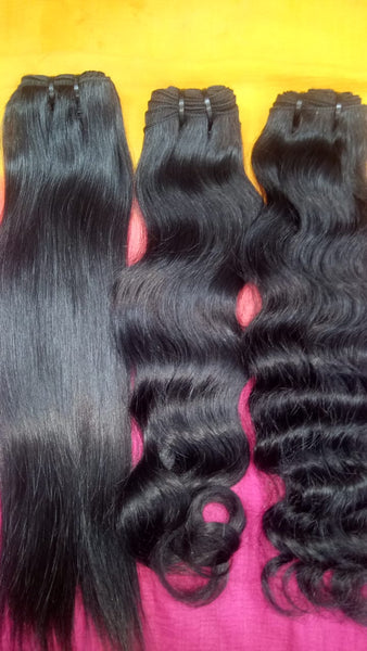 SOUTH INDIAN RAW HAIR BUNDLE DEAL - 30 BUNDLES DEAL FREE SHIPPING