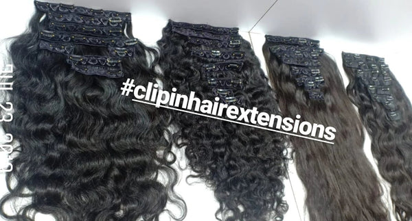 *NEW Clip-ins Hair Extensions South Indian *NEW - Chandra Hair