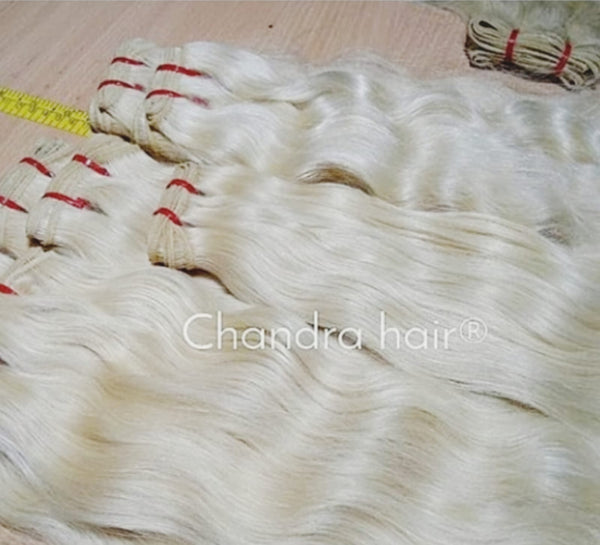South Indian Raw Hair Blond #613