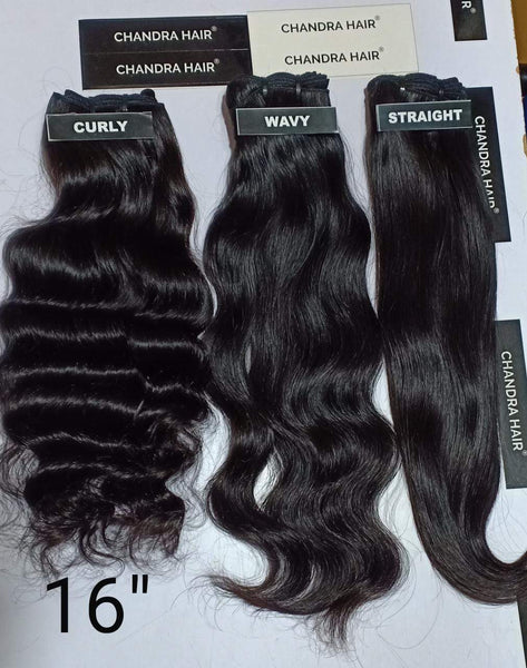 SAMPLE THIS HAIR: SOUTH INDIAN RAW HAIR (50 grams bundles)