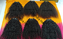 Steamed Curly South Indian Raw Hair - Chandra Hair