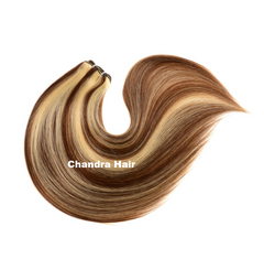 Clip-ins Hair  Extensions Grade 9A - SILKY STRAIGHT - Chandra Hair