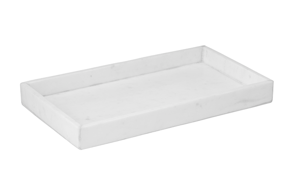 CARARRA TRAY WHITE