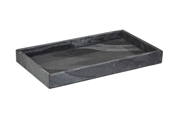 CARARRA TRAY BLACK