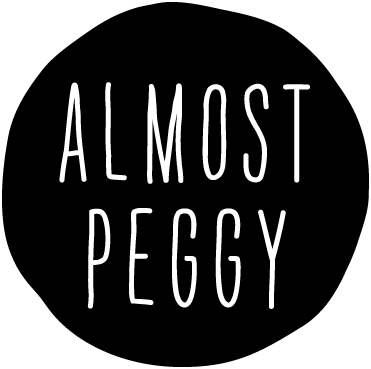 ALMOST PEGGY logo