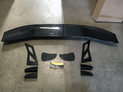 "GT Wing - 69"" Carbon Fiber Deck"