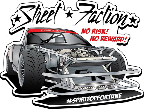 "Limited Edition Stickers | ""Spirit of Fortune"" Vert"