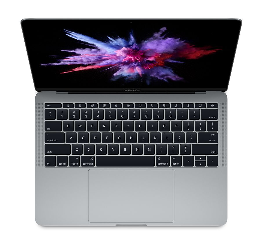 "MacBook Pro 13"" (2017) – MacBookPro14,1 (A1706) – Core i5 (i7 BTO), 2 TB3-portar, ingen TouchBar"