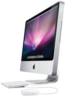 iMac 20 tum (Early 2009) – iMac9,1 (A1224) – Core 2 Duo (Alu-designen)
