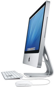 iMac 24 tum (Early 2008) – iMac8,1 (A1225), Aluminium-design
