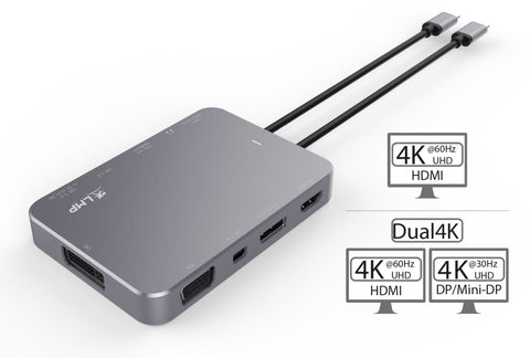 USB-C video docking station