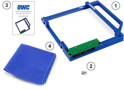 OWC Data Doubler iMac 2009-2011 Optical Bay Drive/SSD Mounting Solution - Macpatric