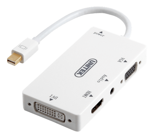 Unitek Mini DisplayPort to HDMI / DVI / VGA / Audio Converter - Macpatric