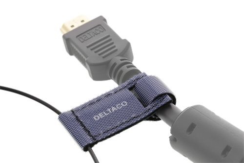 DELTACO OFFICE HDMI adapter ring, mDP, DP, USB-C, DVI, HDMI mini/micro, svart