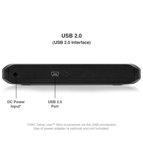 OWC Slim USB 2.0 optical drive external enclosure - Macpatric