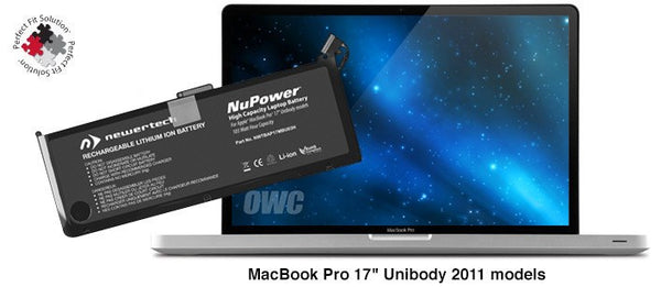 "NewerTech NuPower Battery For MacBook Pro 17"" Unibody 2011 models - Macpatric"
