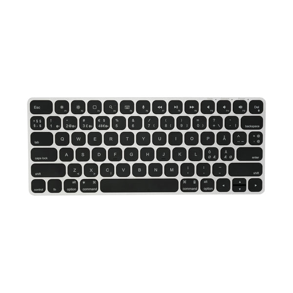 Kanex Ultraslim Mini MultiSync Bluetooth Keyboard (Nordisk version) - Macpatric