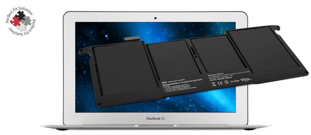 "NewerTech NuPower 39 Watt-Hour Battery for 11"" MacBook Air 2011 - 2015 - Macpatric"
