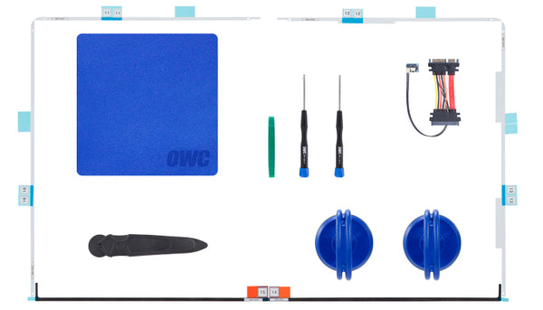"OWC Complete Hard Drive Upgrade Kit Including Tools for all 27"" iMacs 2012 & Later - Macpatric"