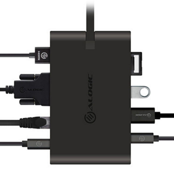 USB-C Travel Dock Pro 7 portar med 100W PD