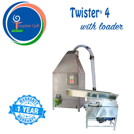 Twister 4 Golf Ball Washer by Thrasher Golf