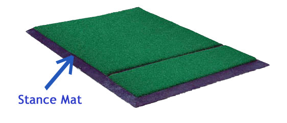 Grass Stance Mat - Thrasher Golf