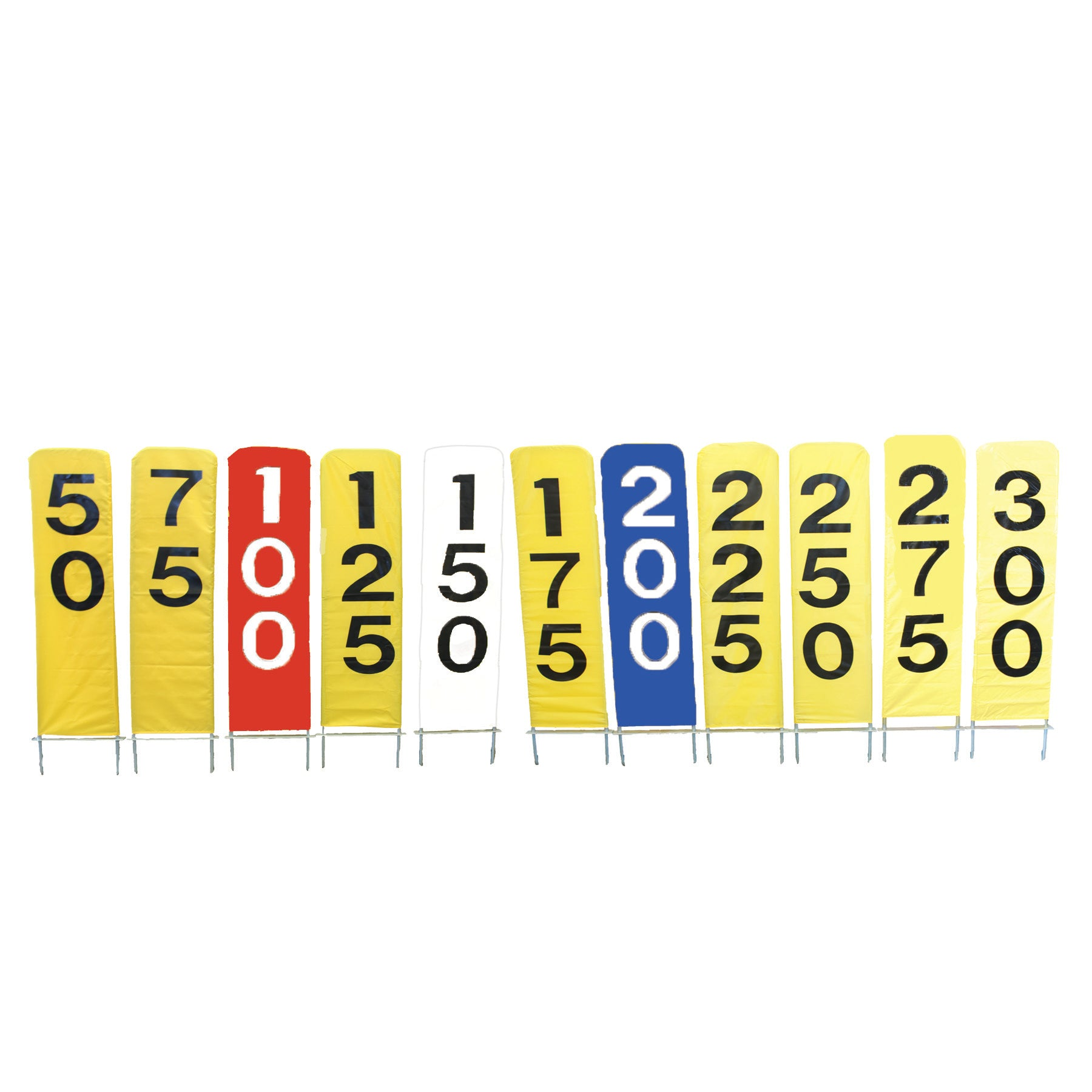 Yardage Markers (with frames)