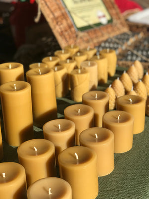 Cylinder Candle