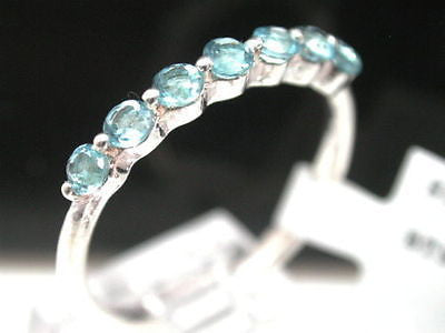 ColoreSG by LORENZO 925 Sterling Silver 18k Gold London Blue Topaz Ring - Random Finds Boutique