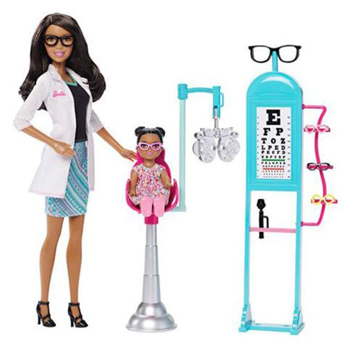 Barbie Careers Eye Doctor Nikki Playset