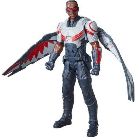 Captain America Civil War Falcon Electronic Titan Hero Talking 12-Inch Action Figure