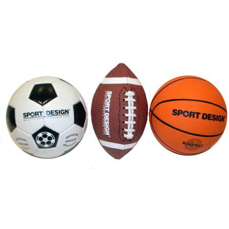 Mini Sports Ball 3-Pack